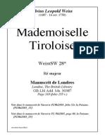 WL67 Mademoiselle Tiroloise