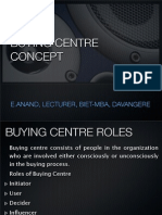 Buying Centre