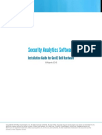 Gen12 Security Analytics Software Installation Guide for Dell HW