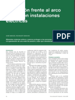 PROTECCION FRENTE AL ARCO INTERNO EN LAS INSTALACIONES ELECTRICAS