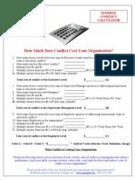 Conflict Calculator Handout