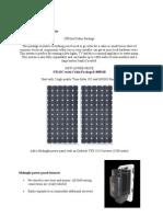 Solar Power Kit for Cabin