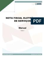 NFSe Manual Pref Barueri