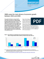SMEs were the main drivers of economic growth between 2004 and 2006