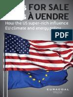 Έκθεση σχετικά με τη χρηματοδότηση των εκστρατειών κατά του άνθρακα από τις ΜΚΟ