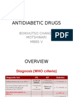 Antidiabetic Drugs