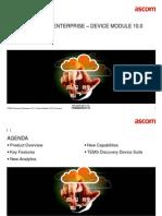 TEMS Discovery Enterprise 10.0 - Device Module - Commercial Presentation