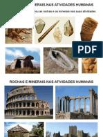 5 Rochas, Minerais e Atividades Humanas
