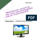 Memoria Monitores