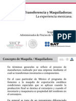 Maquiladoras Sergio PEREZ