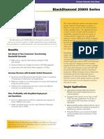 BlackDiamond 20800 Series Data Sheet
