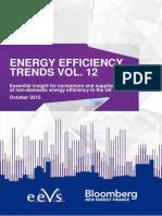 UK Energy Efficiency Trends report