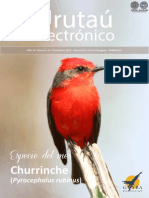 URUTAU ELECTRONICO - No 12 - DICIEMBRE 2012 - GUYRA PARAGUAY - PORTALGUARANI