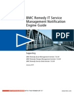 BMC Remedy IT Service Management - ITSM Notification Engine