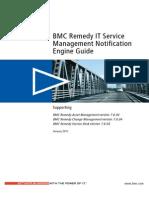 BMC Remedy IT Service Management - ITSM Notification Engine