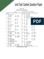 SSC FCI(Accounts Tech Cadres)