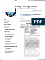 Brentwood Technical Papers Thermal Performance