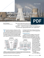 Optimal Cooling Tower Fill