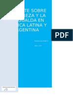 Recupero El Debate Sobre La Pobreza y Desigualda en America Latina y Argentina