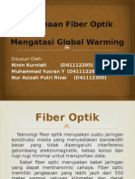 Fiber Optik Mengatasi Global Warming