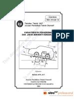Modul Mekanika Gerak Kendaraan OTO226-03