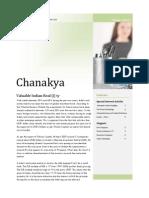 Chanakya Volume I Issue IV