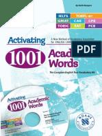 Activating 1001 academicwords