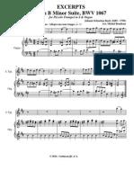 Suite h-Moll Trompete Und Orgel BWV 1076