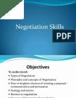 Study on Negotiation Skills - Startup