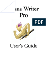 Nisus Writer Pro User Guide