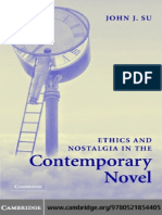 John J. Su-Ethics and Nostalgia in the Contemporary Novel-Cambridge University Press (2005)