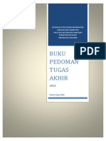 Pedoman Penulisan TA ILKOM - 2013