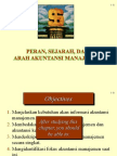 Peran, Sejarah, Dan Arah Akuntansi Manajemen