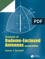 Analysis of Radome-Enclosed Antennas