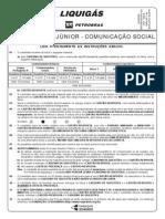 Prova 15 - Profissional Júnior - Comunicação Social