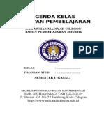 1. Cover Agenda Kelas.doc