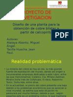 Proyecto de Invetigacion Concentracion