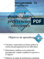 Parkin 09 Posibilidades, Preferencias y Elecciones