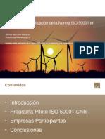 Experiencia ISO 50001 en Chile