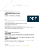 MUSL0031 - Políticas Culturais no Brasil