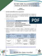 Solucion de Actividad dSolucion de Actividad de Aprendizaje Unidad 1-La Normalizacion de Una Organizacione Aprendizaje Unidad 1-La Normalizacion de Una Organizacion