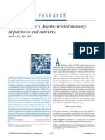 Non-Alzheimer's Disease–Related Memory