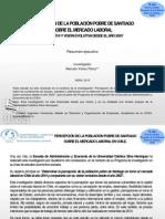 Estudio Pobres y Mercado Laboral Versi n 2003 2014