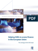 Helping SMEs to access finance in the European Union