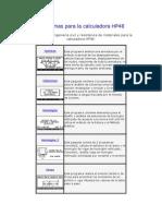 Programas Para La Calculadora HP48