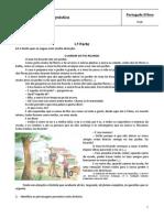 Ficha de Avaliação_5.º_o Jardim Do Tio Ricardo