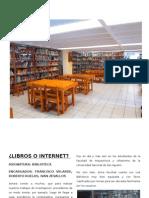 Articulo - Libros o Internet