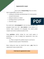 Argumentative Essays-lühem Variant