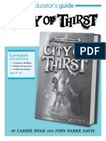 City of Thirst Educator Guide