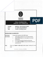 FINAL EXAM Mpw2133 Malaysian Studies Jan 15 UTP
